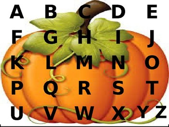 Fall Letter Puzzle