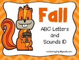 Fall Letter & Sound ID Card Game