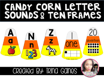 Fall  Letter Sounds and Ten Frames