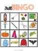 Fall Leveled Bingo Game for Special Education and Autism