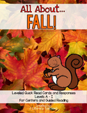 Fall! Leveled Quick Read Cards and Response Activities