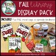 Fall Library Display Pack