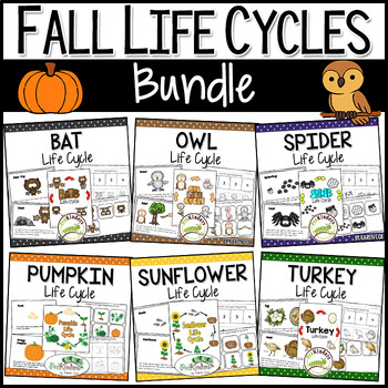 Fall Life Cycle Science BUNDLE