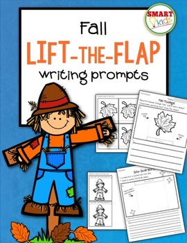 Fall Lift-the-Flap Writing Prompts