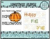 Fall Lightbox Set!
