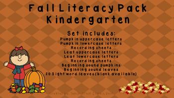 Fall Literacy Activities