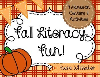 Fall Literacy Centers (9 Hands-on Activities!)