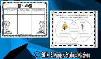 Fall - Literacy Activities! FREE RESOURCE