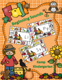 Fall Literacy Activities Scarecrow Beginning Consonant Sounds