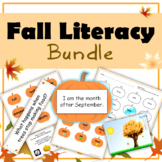 Fall Literacy Bundle (Sight Words, Vocabulary, and Poem)