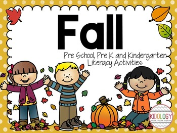 Fall Literacy Centers, Activities, Games, Printables