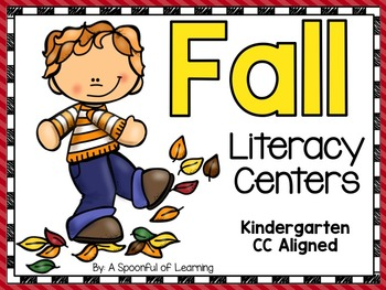 Fall Literacy Centers! Aligned to the CC