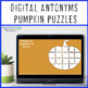 Fall Literacy Centers: Antonyms Pumpkin Puzzle