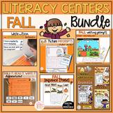 Fall Literacy Centers Bundle