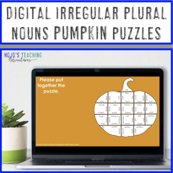 Fall Activities: Irregular Plural Nouns   September Early Finishers