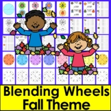 Fall Activities - DIBELS - Onset Rime Build A Word - Makes 63 Different Sets