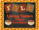 Fall Literacy Centers: Third Grade!! Common Core!