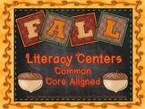 Fall Literacy Centers: Third Grade!! Common Core!