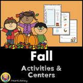 Fall Activities and Centers