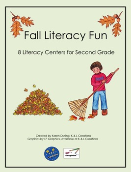 Fall Literacy Fun Centers/Task Cards