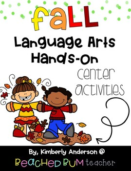 BUNDLE: Fall Literacy / Grammar / Language Arts Centers (4 Products)