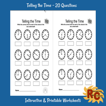 Fall Literacy & Math Classroom Activities & Worksheets Grade 1-2