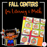 Fall Center Activities for Kindergarten