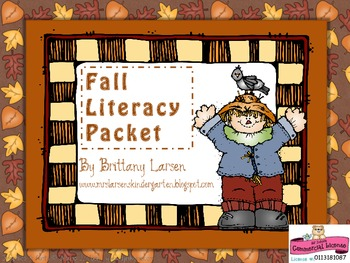 Fall Literacy Packet