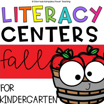 Fall Literacy Packet {Kindergarten No PREP}
