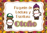 Fall Literacy Packet NO PREP Spanish / Paquete en Español sobre OTOÑO NO PREP