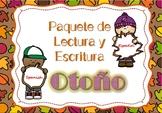 Fall Literacy Packet NO PREP Spanish / Paquete en Español