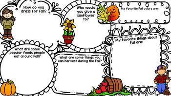 Fall Literacy - Special Education - Life Skills - Print & Go - Reading - ELA
