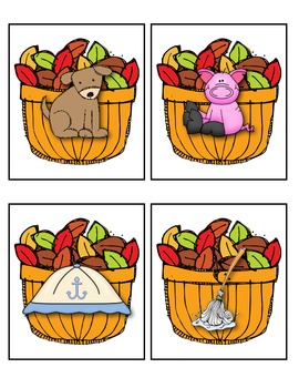 Fall Literacy Station Activities