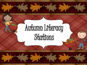 Fall Literacy Stations