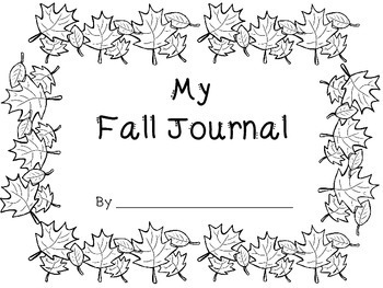 Fall Literacy Task Cards and Writing