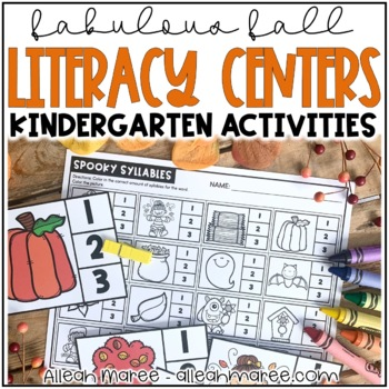 Fall Literacy Work Stations