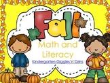 Fall Literacy and Math