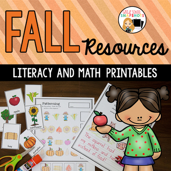 Fall Literacy and Math Activities