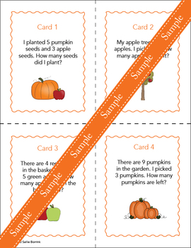Fall Literacy and Math for Kindergarten and First Grade