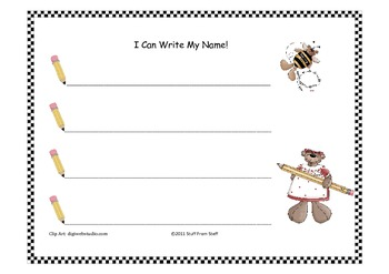 PreK and Kindergarten Literacy / Math Assessment Bundle