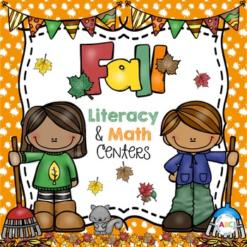 Fall Literacy and Math Centers