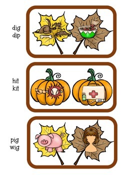 Fall Literacy and Math Pack