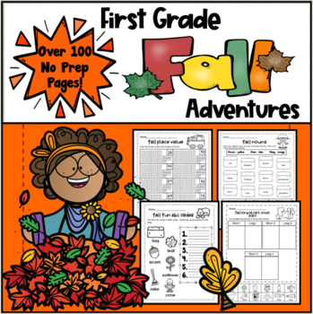 Fall Literacy and Math Packet(1st Grade)