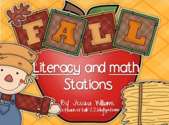 Fall Literacy and Math Stations
