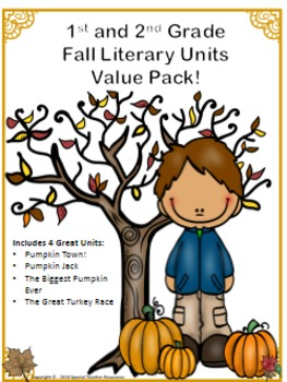Fall Literary Unit Value Pack!