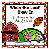 Fall Literature: When The Leaf Blew In
