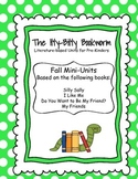 Fall Literature-based Units:  I Like Me, Silly Sally,...