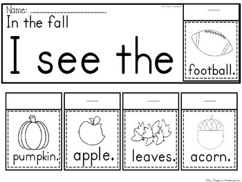 Fall Little Readers Pack