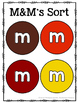 Fall M&M's Fun Activity Pack {Graphing, Sorting, Patterns & More}