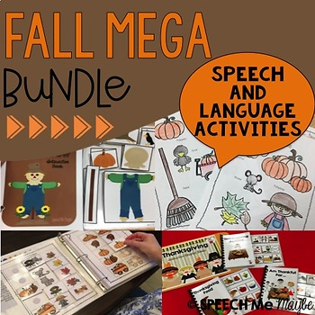 Fall MEGA Bundle for Speech and Language